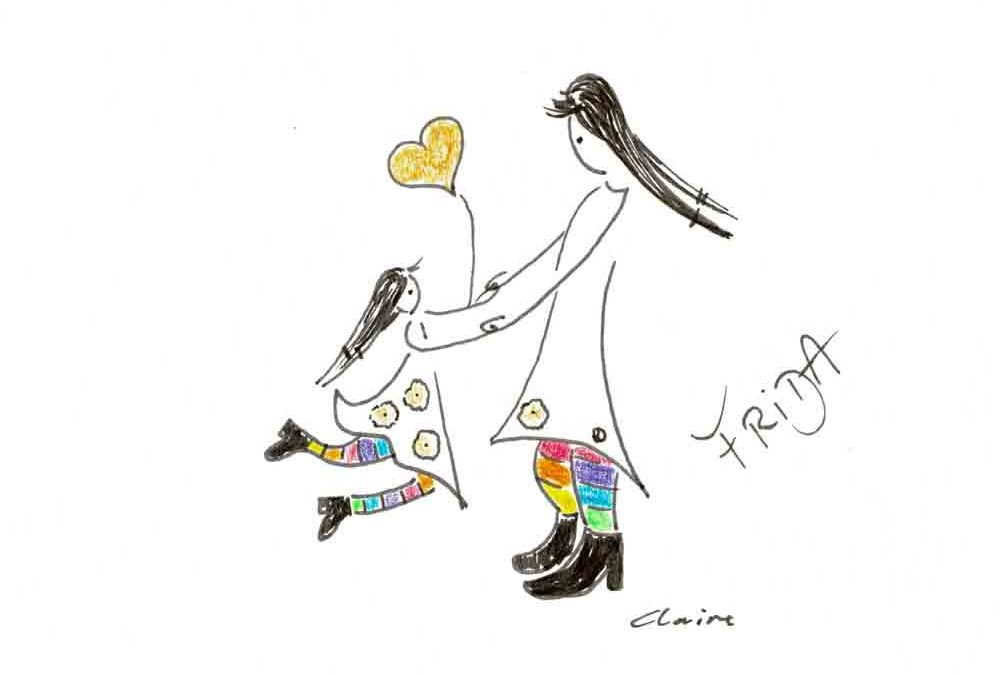 Lebensfreude mit dem inneren spielenden Kind an der Hand