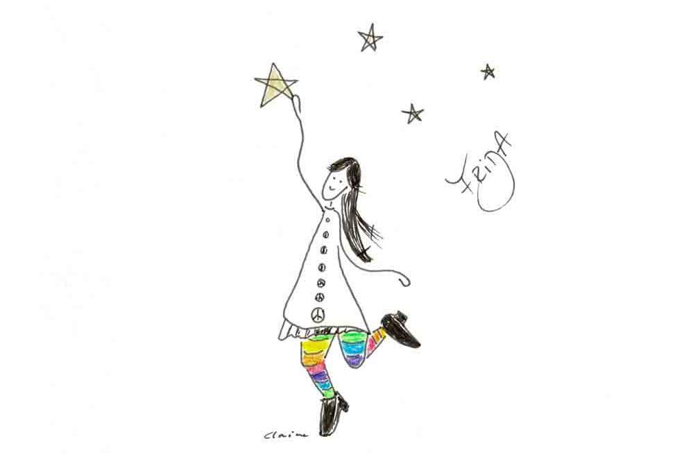 Greife nach den Sternen!